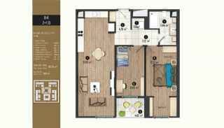 Luxurious Flats with Rich Facilities in Beylıkduzu Istanbul, Property Plans-1
