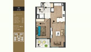 Luxurious Flats with Rich Facilities in Beylıkduzu Istanbul, Property Plans-2