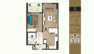 Luxurious Flats with Rich Facilities in Beylıkduzu Istanbul, Property Plans-5