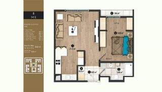 Luxurious Flats with Rich Facilities in Beylıkduzu Istanbul, Property Plans-7