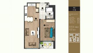 Luxurious Flats with Rich Facilities in Beylıkduzu Istanbul, Property Plans-8