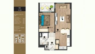 Luxurious Flats with Rich Facilities in Beylıkduzu Istanbul, Property Plans-9