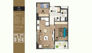 Luxurious Flats with Rich Facilities in Beylıkduzu Istanbul, Property Plans-10