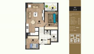 Luxurious Flats with Rich Facilities in Beylıkduzu Istanbul, Property Plans-11