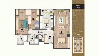 Luxurious Flats with Rich Facilities in Beylıkduzu Istanbul, Property Plans-12