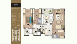 Luxurious Flats with Rich Facilities in Beylıkduzu Istanbul, Property Plans-16