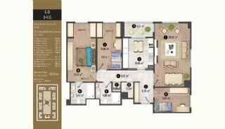 Luxurious Flats with Rich Facilities in Beylıkduzu Istanbul, Property Plans-17