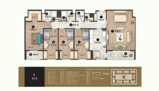 Luxurious Flats with Rich Facilities in Beylıkduzu Istanbul, Property Plans-21