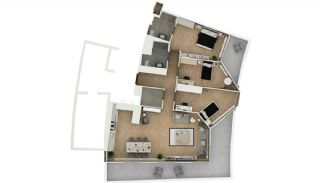 Stylishly Designed Apartments in Bahçelievler Istanbul, Property Plans-4