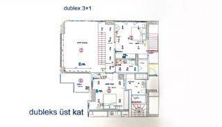 Квартиры в Картале в Стамбуле с Видом на Море и Острова, Планировка -2