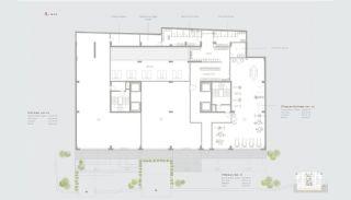 Residentie-concept Appartementen in Sarıyer Istanbul, Vloer Plannen-5