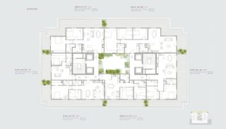 Residence-Concept Flats in Sarıyer Istanbul, Property Plans-6