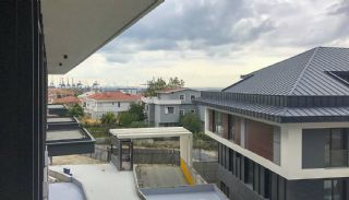 Sea View Villas Walking Distance to Amenities in Istanbul, Construction Photos-6