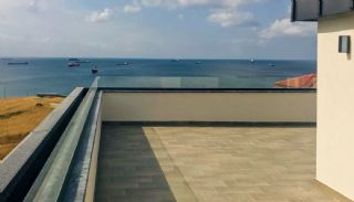 Sea View Villas Walking Distance to Amenities in Istanbul, Construction Photos-8