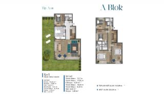 Sea View Villas Walking Distance to Amenities in Istanbul, Property Plans-1