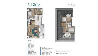 Sea View Villas Walking Distance to Amenities in Istanbul, Property Plans-2
