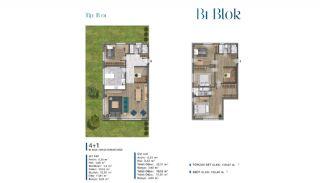 Villa's met zeezicht op loopafstand van voorzieningen in Istanbul, Vloer Plannen-3