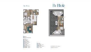 Villa's met zeezicht op loopafstand van voorzieningen in Istanbul, Vloer Plannen-6