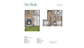 Sea View Villas Walking Distance to Amenities in Istanbul, Property Plans-8