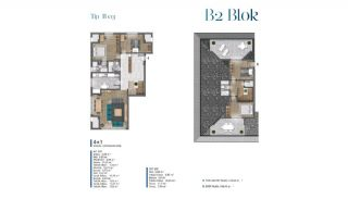 Sea View Villas Walking Distance to Amenities in Istanbul, Property Plans-9