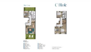 Sea View Villas Walking Distance to Amenities in Istanbul, Property Plans-11