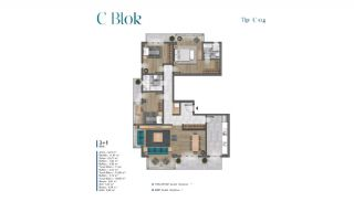 Sea View Villas Walking Distance to Amenities in Istanbul, Property Plans-12