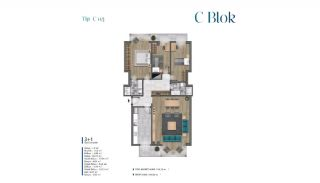 Sea View Villas Walking Distance to Amenities in Istanbul, Property Plans-13