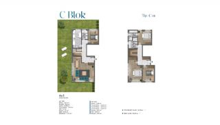Sea View Villas Walking Distance to Amenities in Istanbul, Property Plans-16