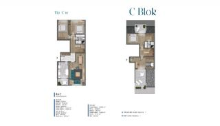 Sea View Villas Walking Distance to Amenities in Istanbul, Property Plans-17