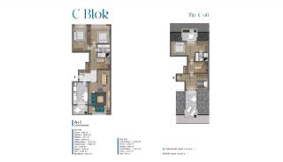 Sea View Villas Walking Distance to Amenities in Istanbul, Property Plans-18