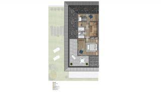 Villa's met zeezicht op loopafstand van voorzieningen in Istanbul, Vloer Plannen-21