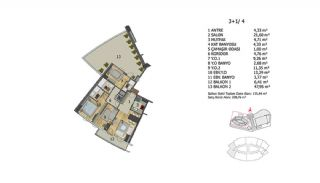 Apartments in Premium Quality Complex in Basaksehir Istanbul, Property Plans-9