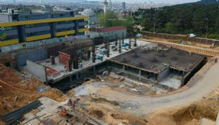 Modern Apartments with Special Design in Cekmekoy Istanbul, Construction Photos-8