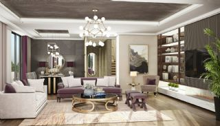 Modern Apartments with Special Design in Cekmekoy Istanbul, Interior Photos-2