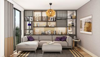 Modern Apartments with Special Design in Cekmekoy Istanbul, Interior Photos-3