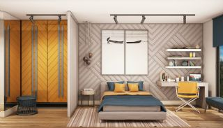 Modern Apartments with Special Design in Cekmekoy Istanbul, Interior Photos-6