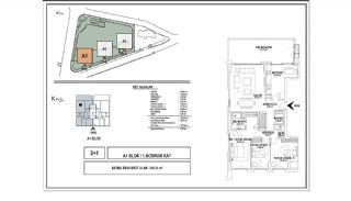 Modern Apartments with Special Design in Cekmekoy Istanbul, Property Plans-1