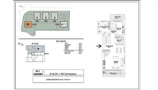 Modern Apartments with Special Design in Cekmekoy Istanbul, Property Plans-6