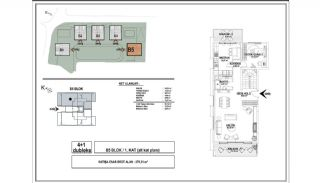 Modern Apartments with Special Design in Cekmekoy Istanbul, Property Plans-9