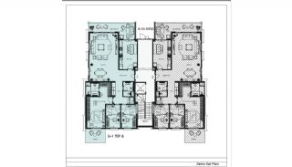 Modern Apartments with Special Design in Cekmekoy Istanbul, Property Plans-19
