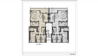 Modern Apartments with Special Design in Cekmekoy Istanbul, Property Plans-20