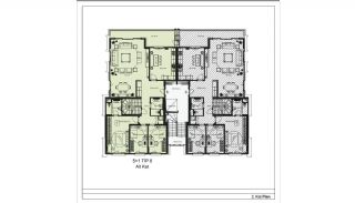 Modern Apartments with Special Design in Cekmekoy Istanbul, Property Plans-21