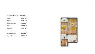 Profitable Investment Flats in Büyükçekmece Istanbul, Property Plans-1