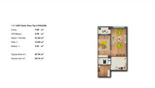 Profitable Investment Flats in Büyükçekmece Istanbul, Property Plans-3