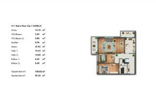 Profitable Investment Flats in Büyükçekmece Istanbul, Property Plans-4