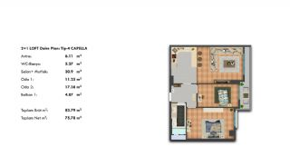 Profitable Investment Flats in Büyükçekmece Istanbul, Property Plans-7