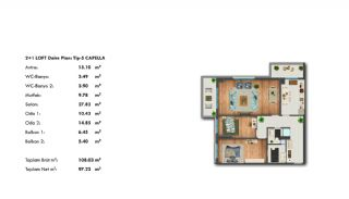 Profitable Investment Flats in Büyükçekmece Istanbul, Property Plans-8