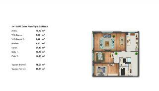 Profitable Investment Flats in Büyükçekmece Istanbul, Property Plans-9