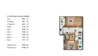Profitable Investment Flats in Büyükçekmece Istanbul, Property Plans-10