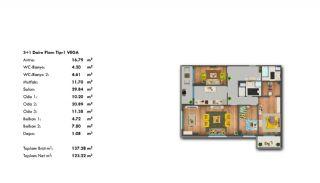 Profitable Investment Flats in Büyükçekmece Istanbul, Property Plans-11